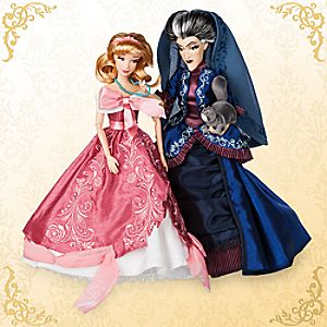 Cinderella and Lady Tremaine Doll Set - Disney Fairytale Designer Collection