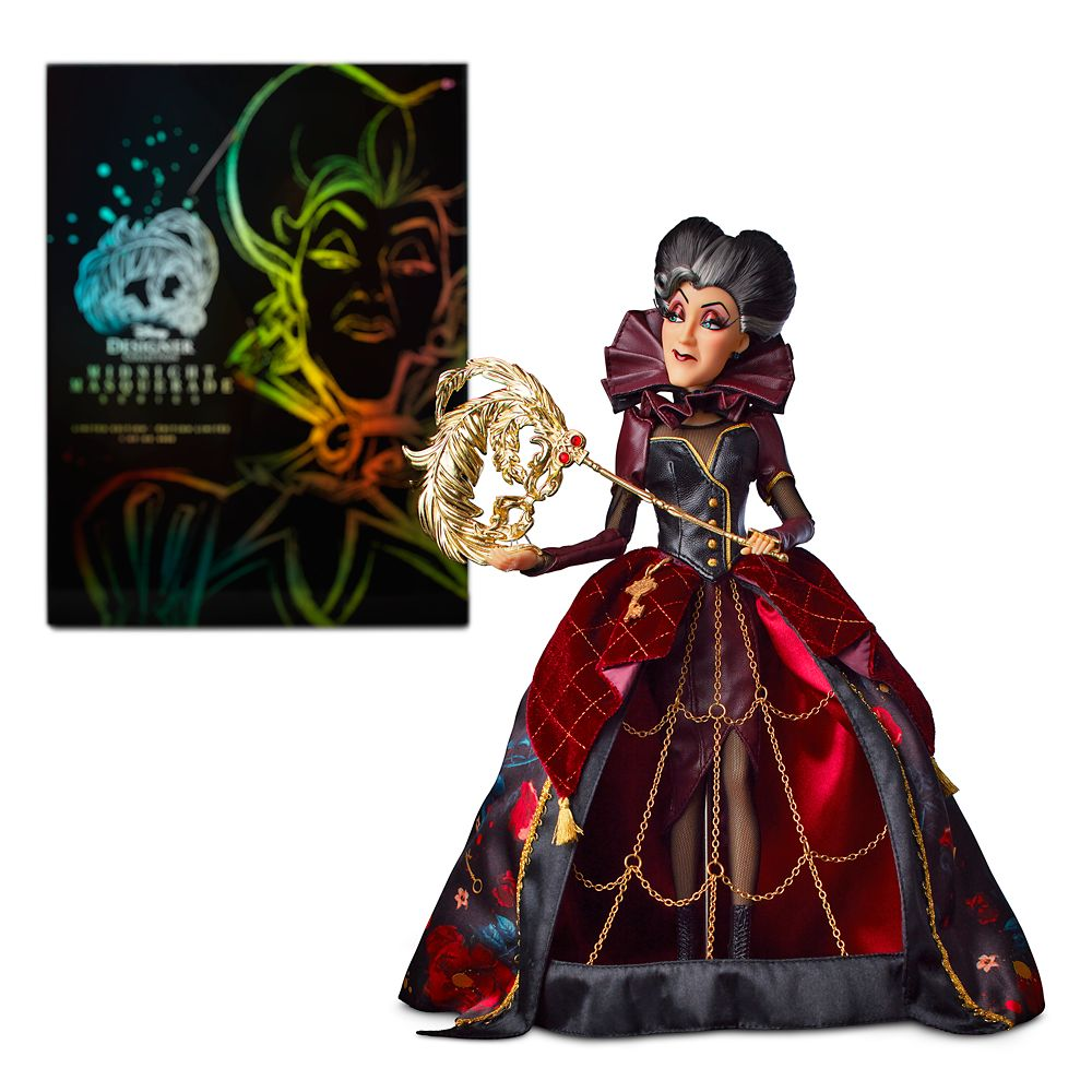Lady Tremaine Limited Edition Doll – Disney Designer Collection Midnight Masquerade Series – Villains – 12''