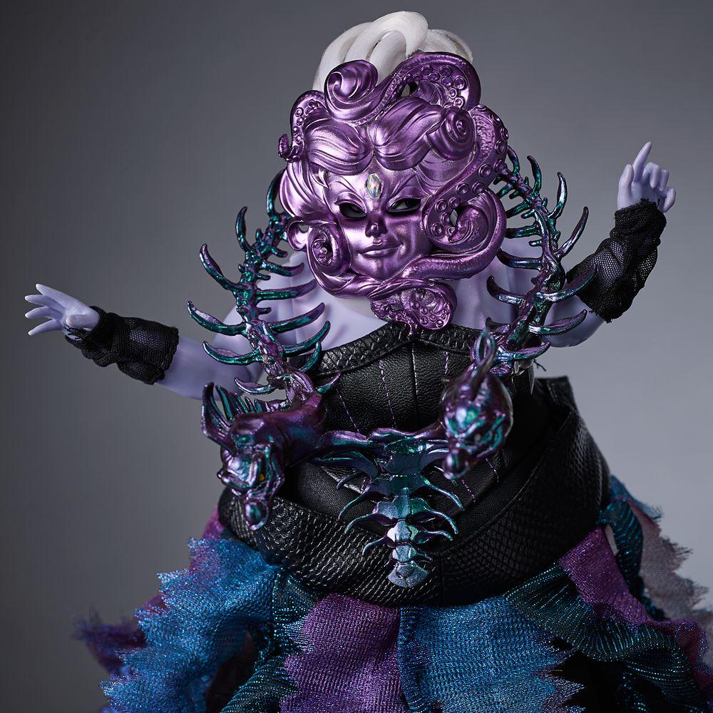 Ursula Limited Edition Doll – Disney Designer Collection Midnight Masquerade Series – Villains – 12''