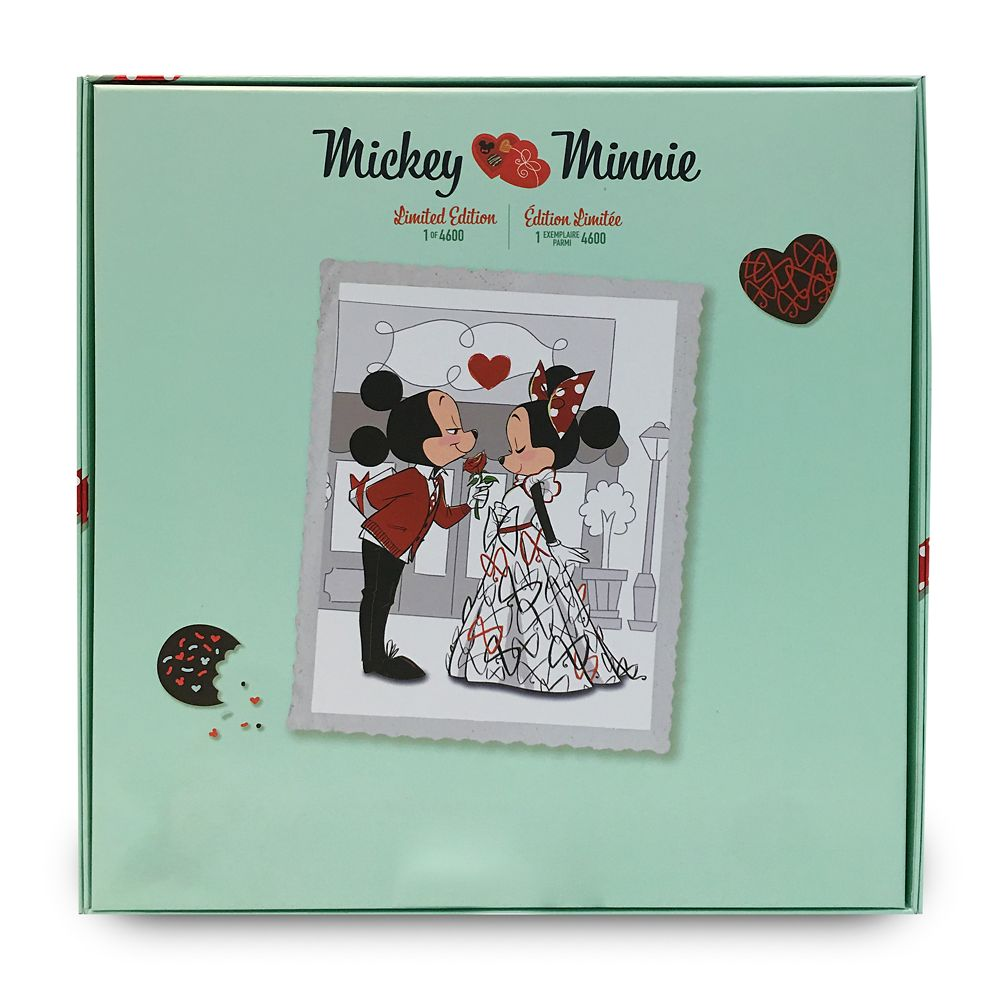 Mickey and Minnie Mouse Limited Edition Valentine's Day Doll Set – D23 Early Access