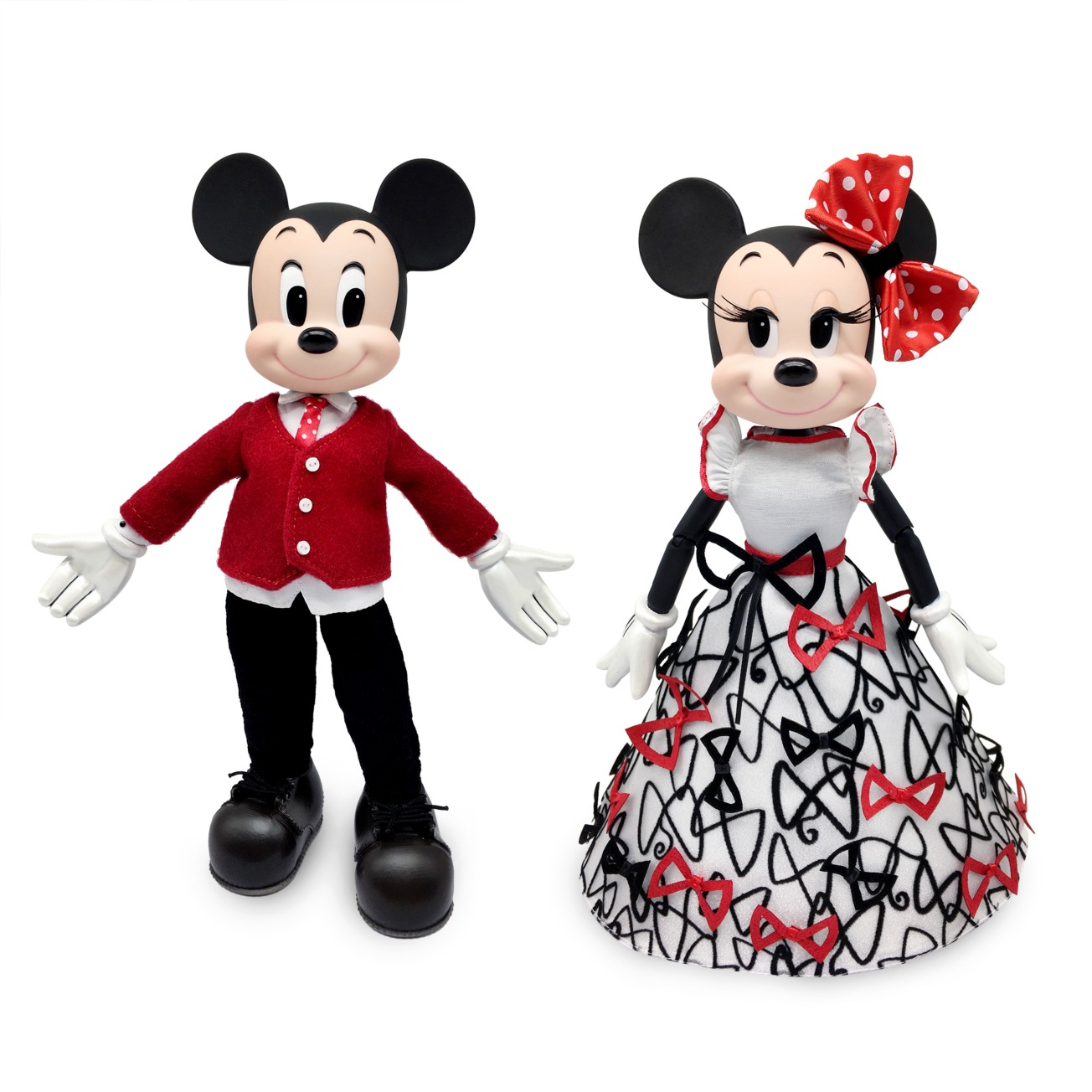 Disney Mickey and Minnie Mouse Limited Edition Sweethearts Doll Set