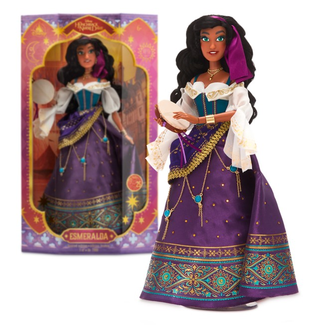 Esmeralda Limited Edition Doll – The Hunchback of Notre Dame – 17''