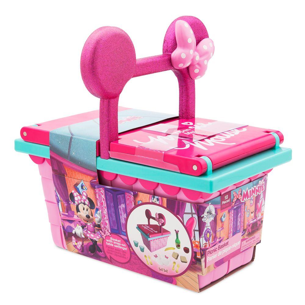 Minnie Mouse Picnic Basket