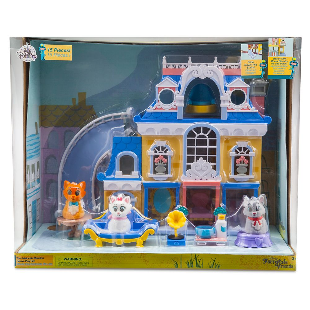 The Aristocats Mansion Deluxe Playset – Furrytale friends