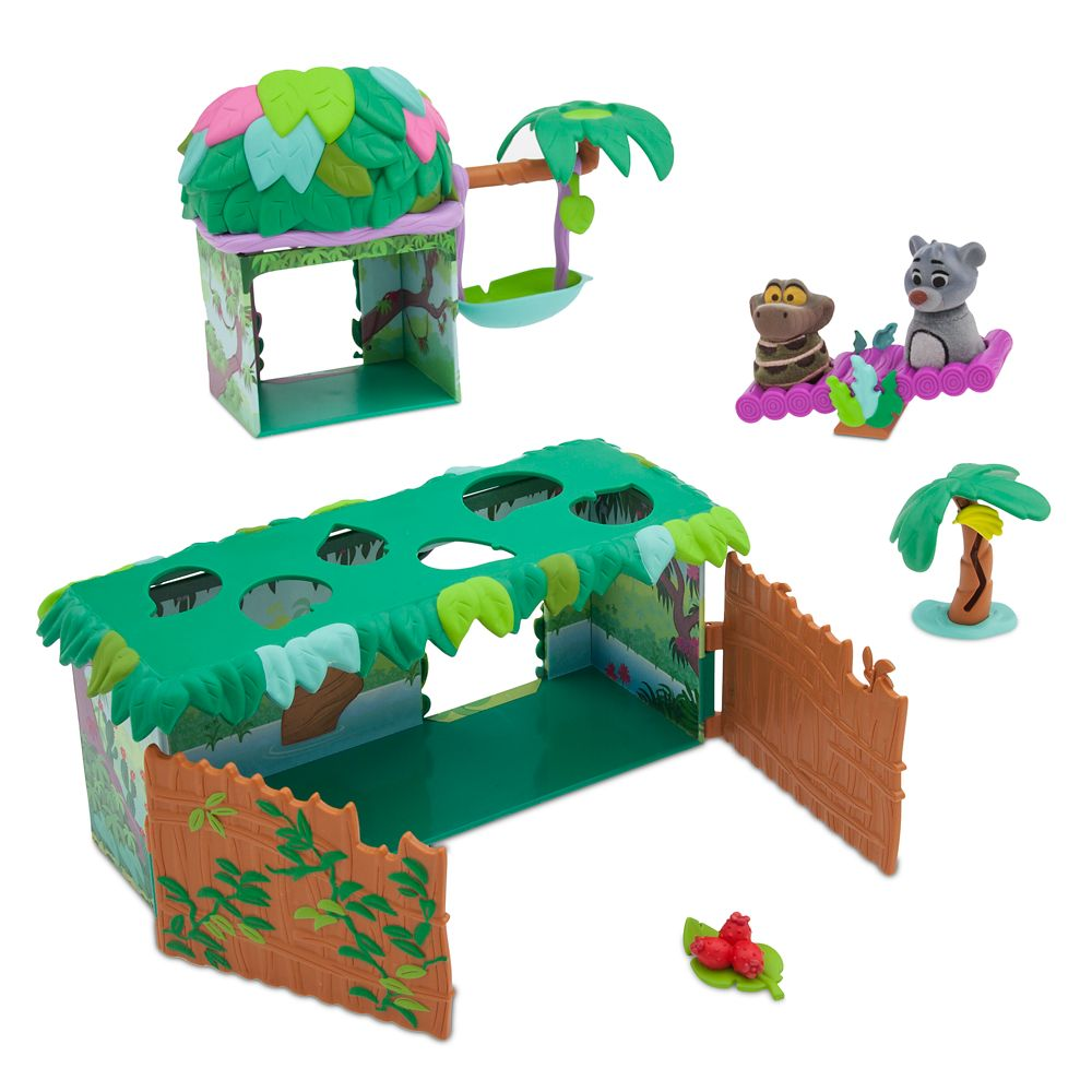 The Jungle Book Deluxe Playset – Furrytale friends
