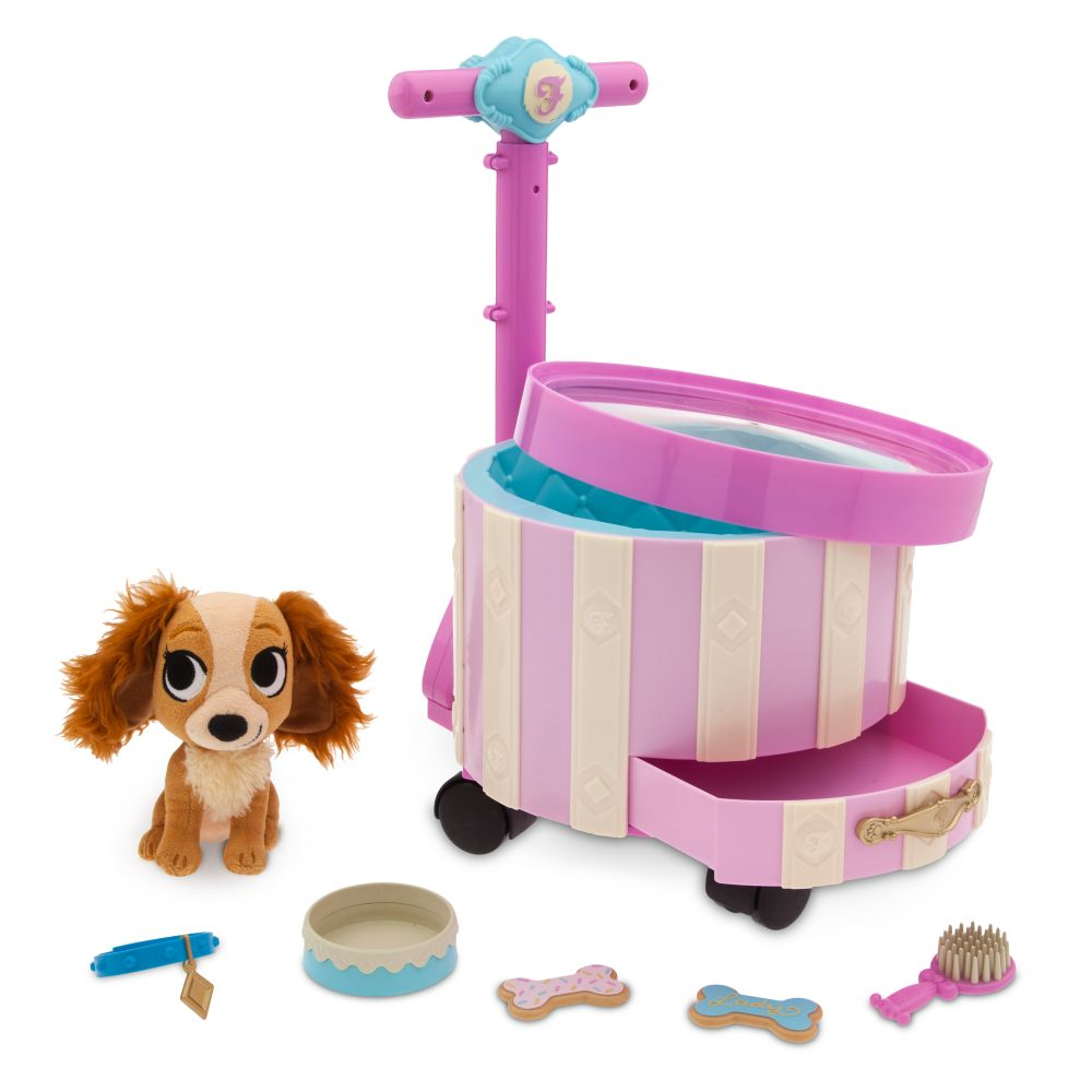 Lady Pet Carrier Playset – Disney Furrytale friends