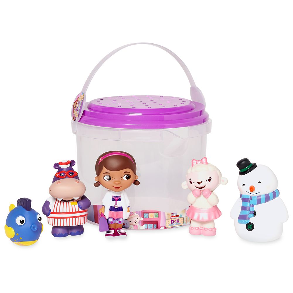 Doc McStuffins Bath Set