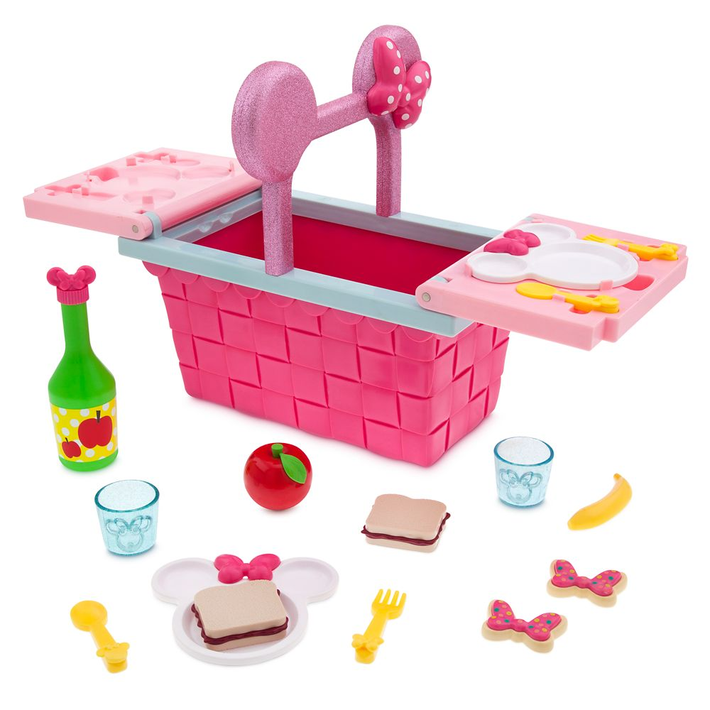 Minnie Mouse Picnic Basket Play Set