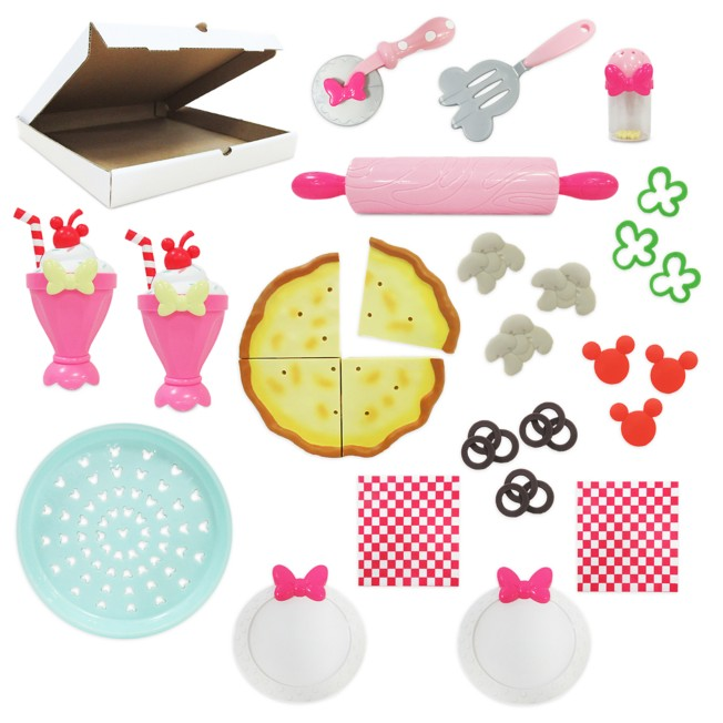 Minnie Mouse Pizza Party Cooking Play Set