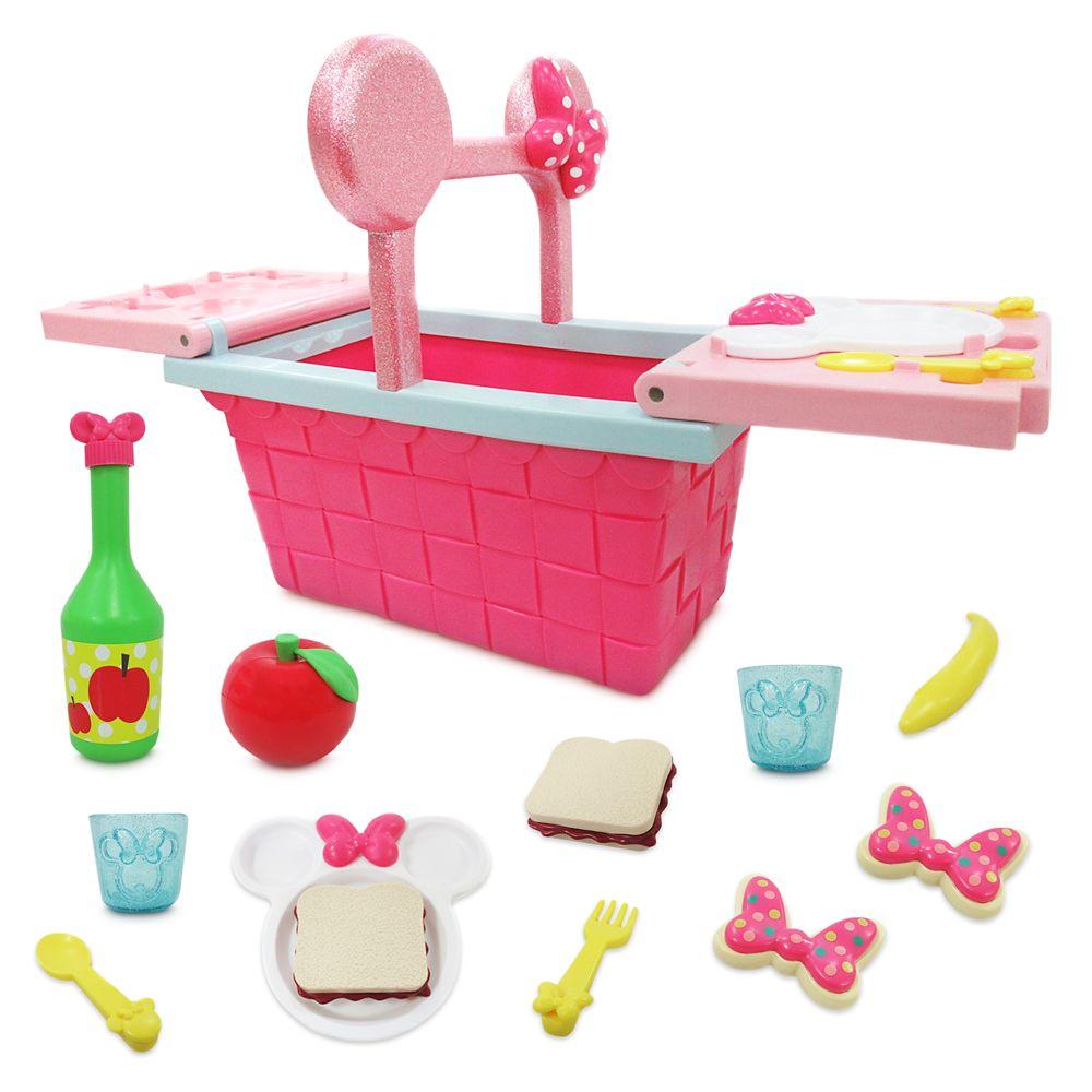 Minnie Mouse Picnic Basket Play Set Official shopDisney