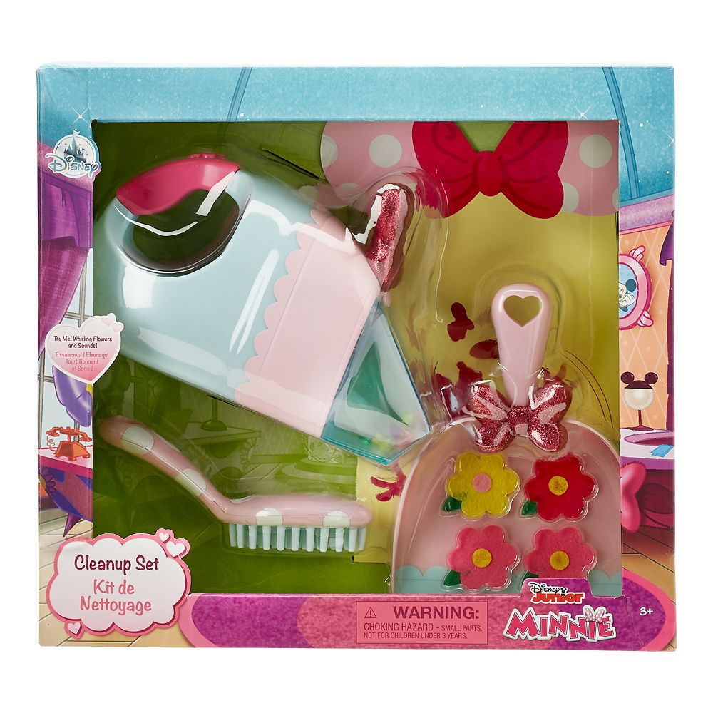Minnie Mouse Vacuum Cleanup Play Set