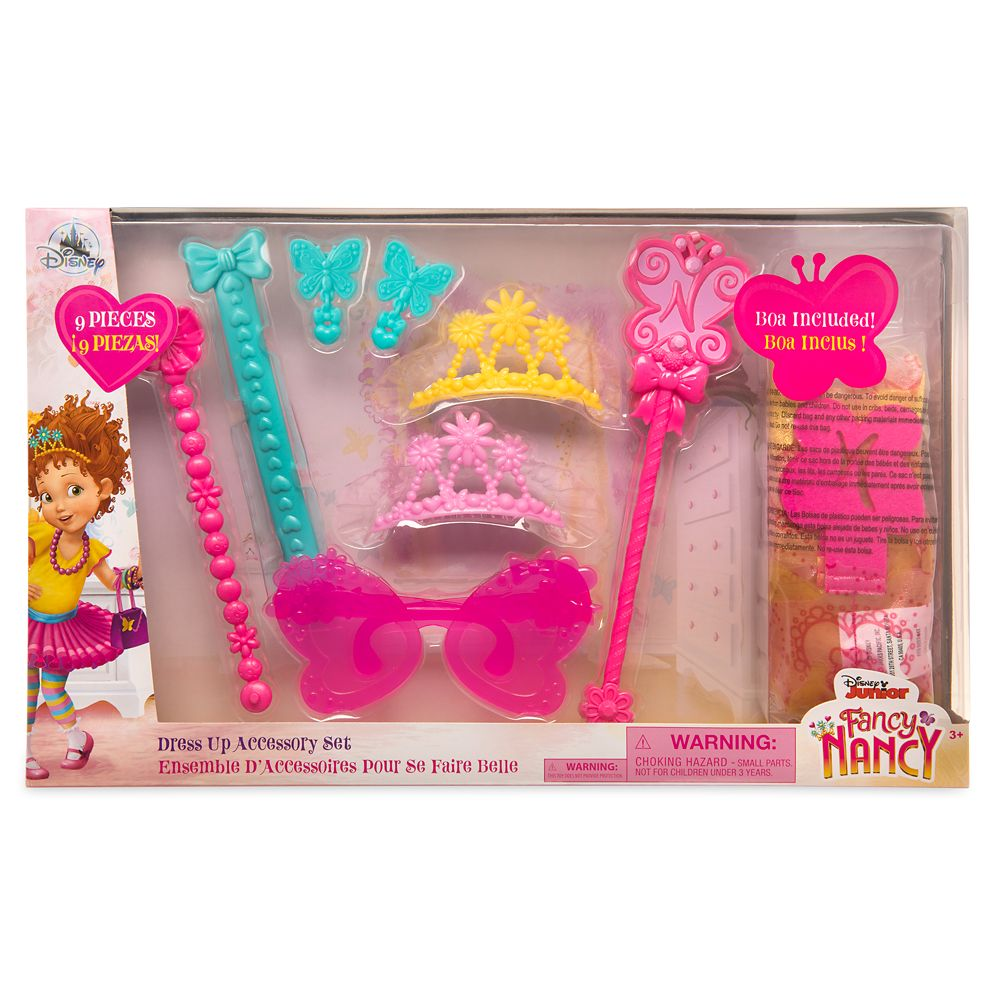 Fancy Nancy Dress Up Accessory Set
