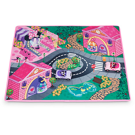Minnie Mouse Bow Playmat and Vehicles Play Set