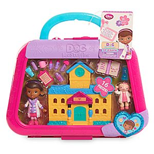 Doc McStuffins Mini Figurine Toy Hospital Set 6004048411428P