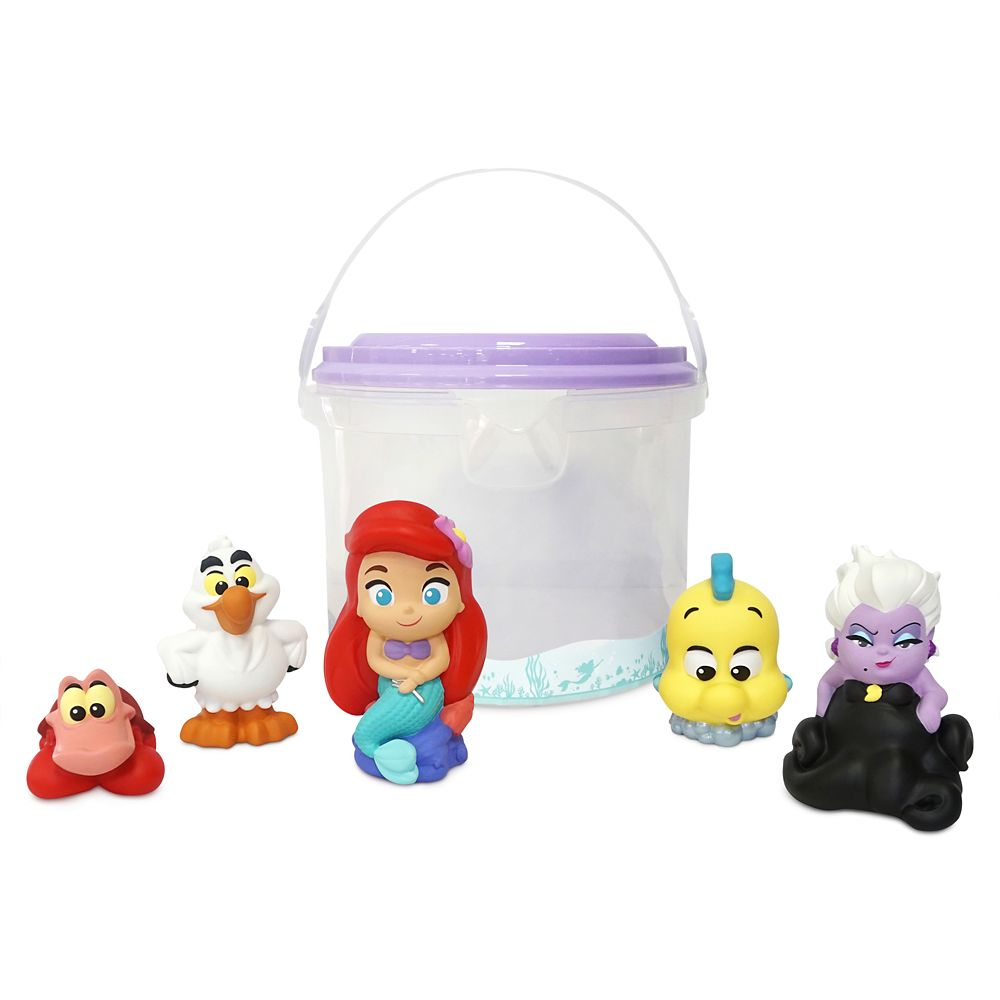 The Little Mermaid Bath Set