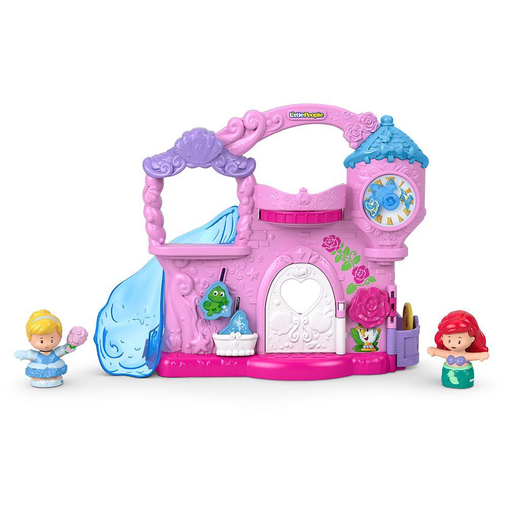 Disney Princess Play & Go Castle Play Set by Little People