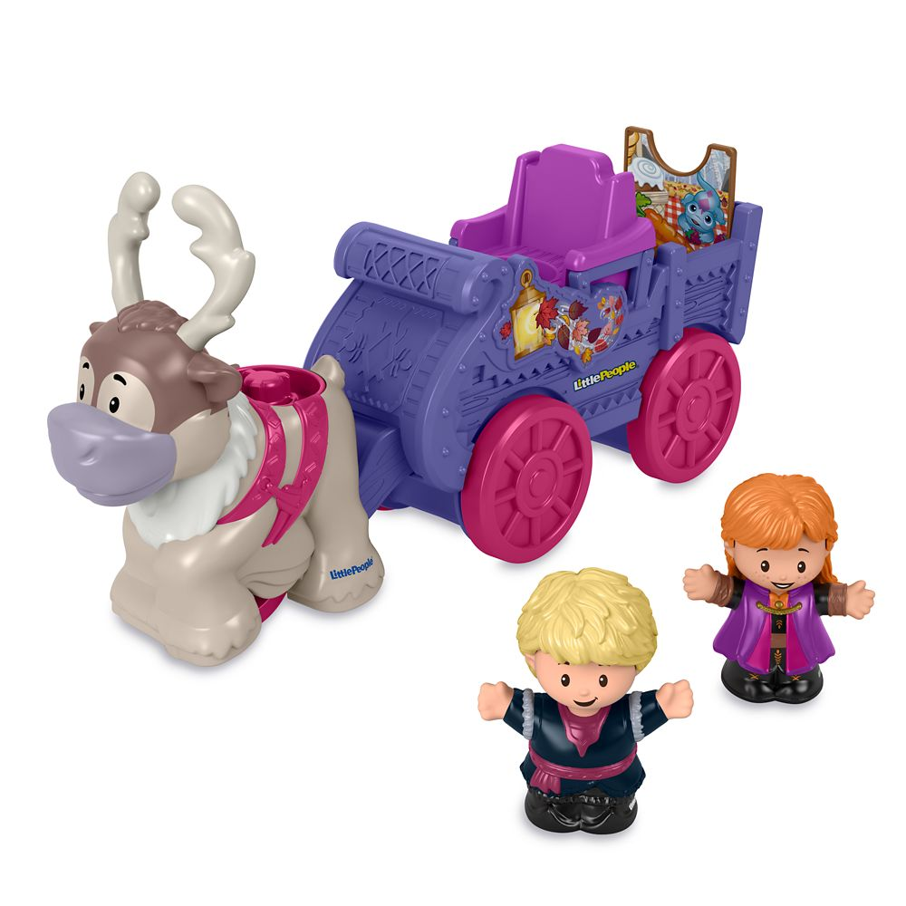 Anna&Kristoff's Wagon Play Set by Little People – Frozen