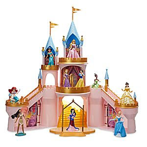 Disney Princess Light-Up Castle Play Set