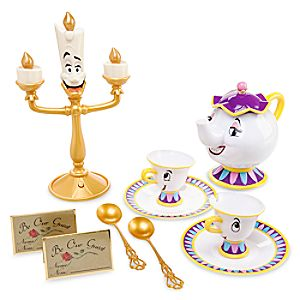 Beauty and the Beast Singing Tea Set