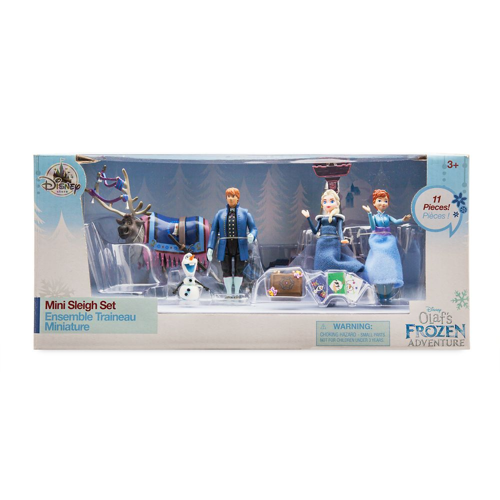 Olaf's Frozen Adventure Mini Sleigh Play Set