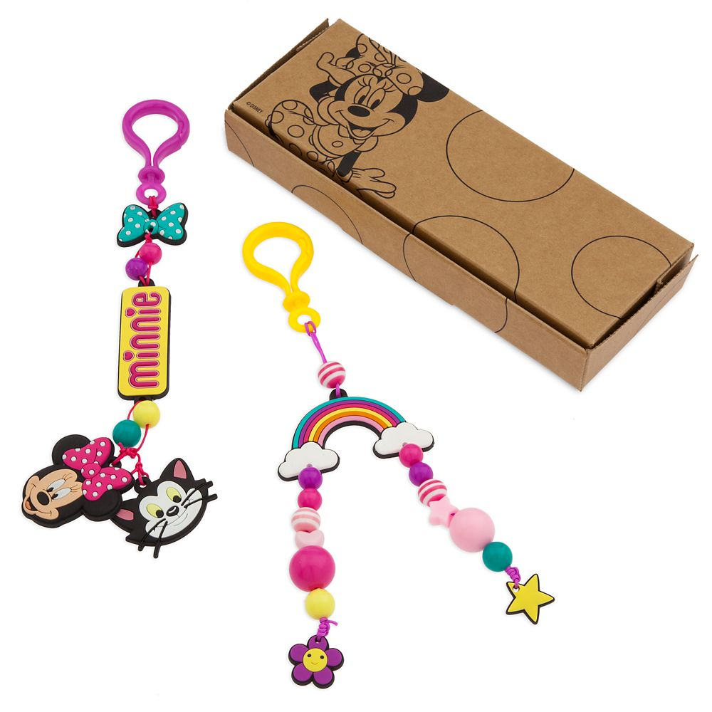 Minnie Mouse DIY Backpack Clips Set