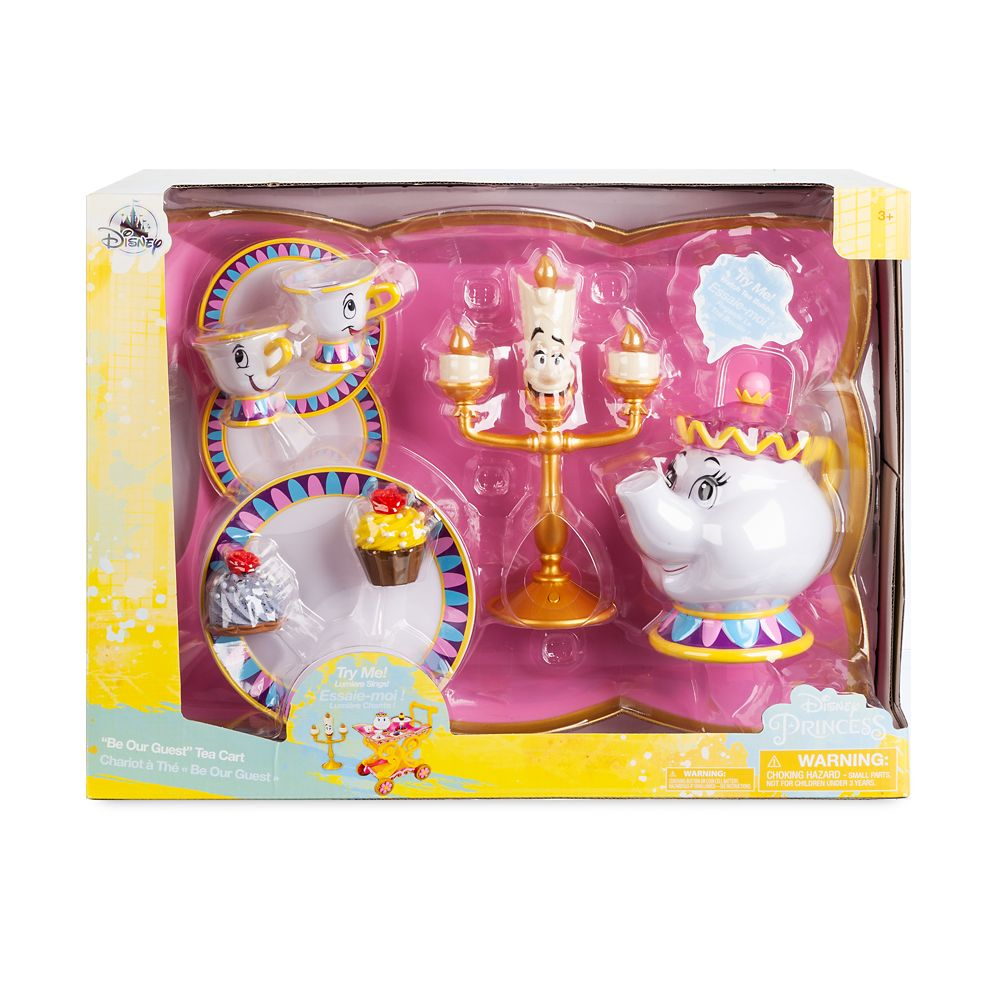 Beauty and the Beast ''Be Our Guest'' Singing Tea Cart Play Set