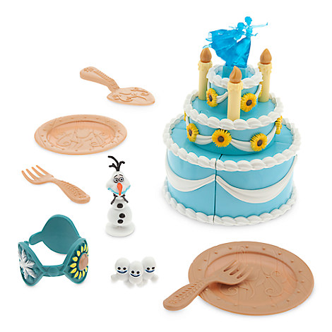 Anna Birthday Cake Play Set - Frozen Fever