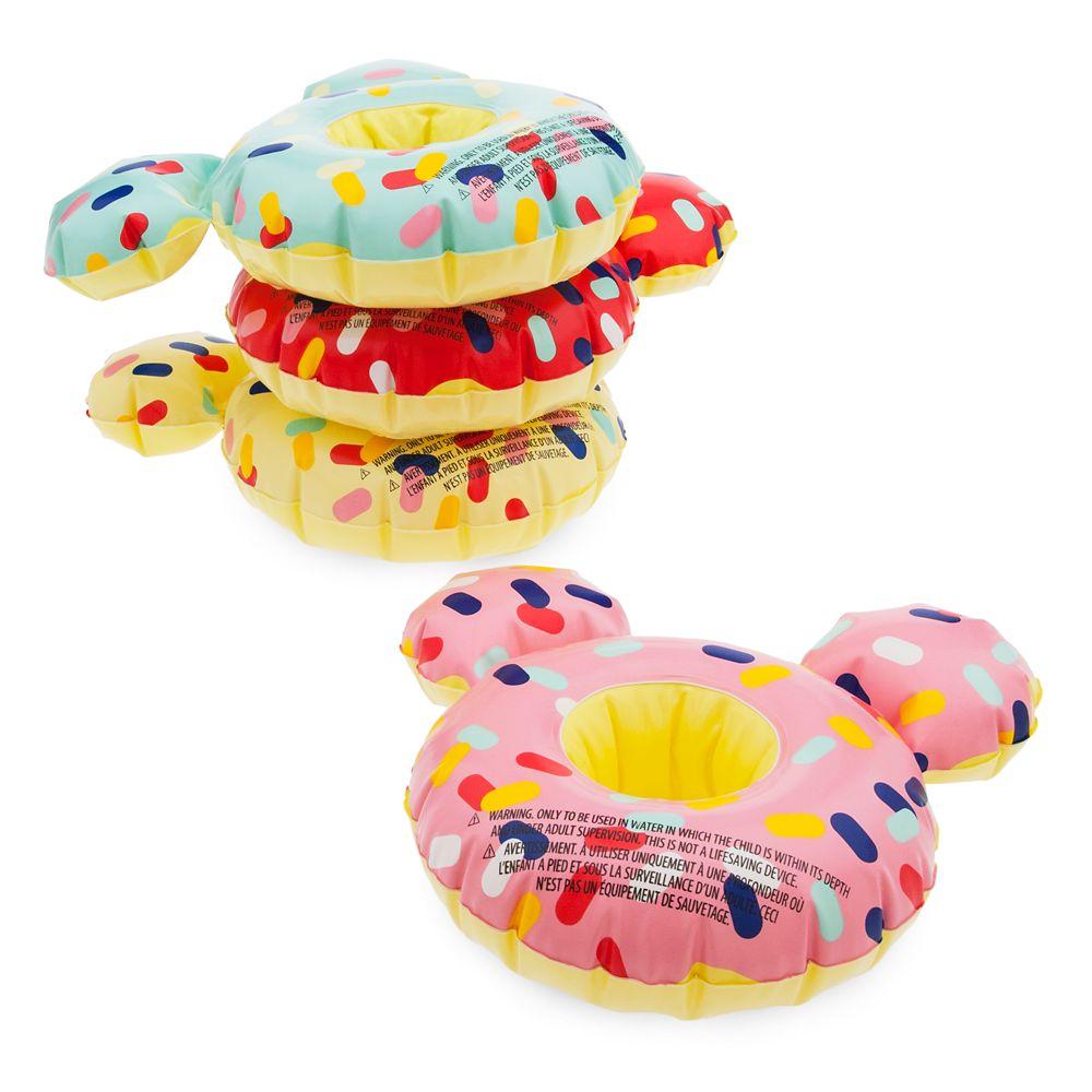 Mickey Mouse Donut Floating Drink Holder Set