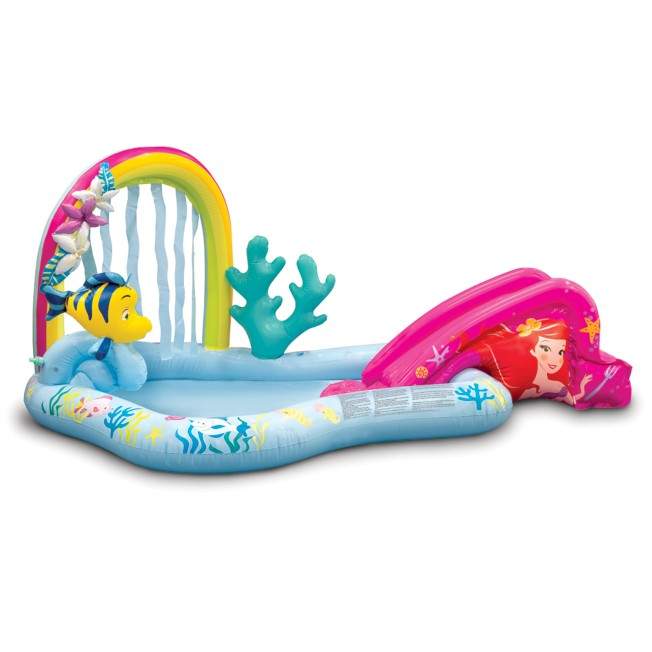 Ariel Inflatable Lagoon Splash Pad and Sprinkler for Kids