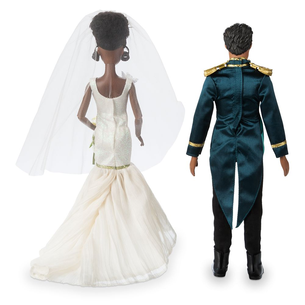 Tiana and Naveen Classic Wedding Doll Set – The Princess and the Frog