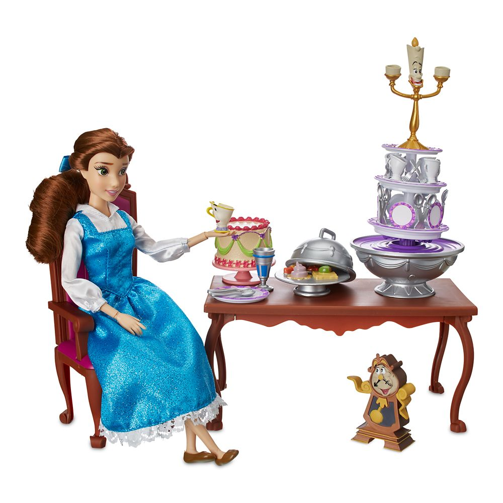 Belle Classic Doll Dinner Party Play Set – Beauty and the Beast