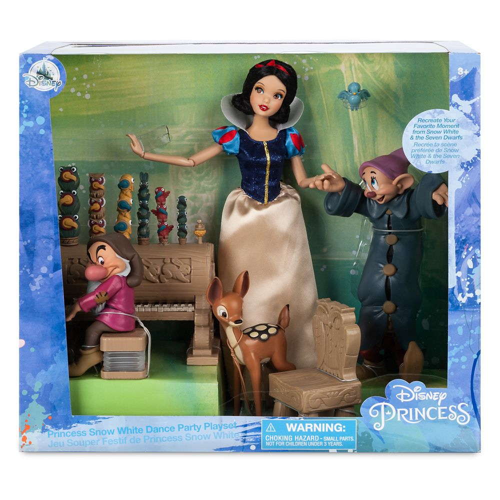 Snow White Classic Doll Dance Party Play Set