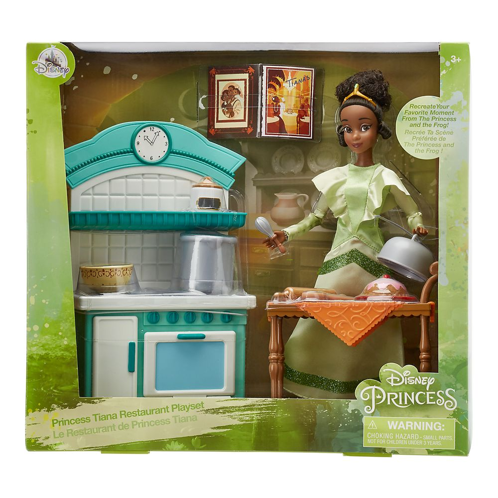 Tiana Classic Doll Restaurant Play Set – The Princess and the Frog