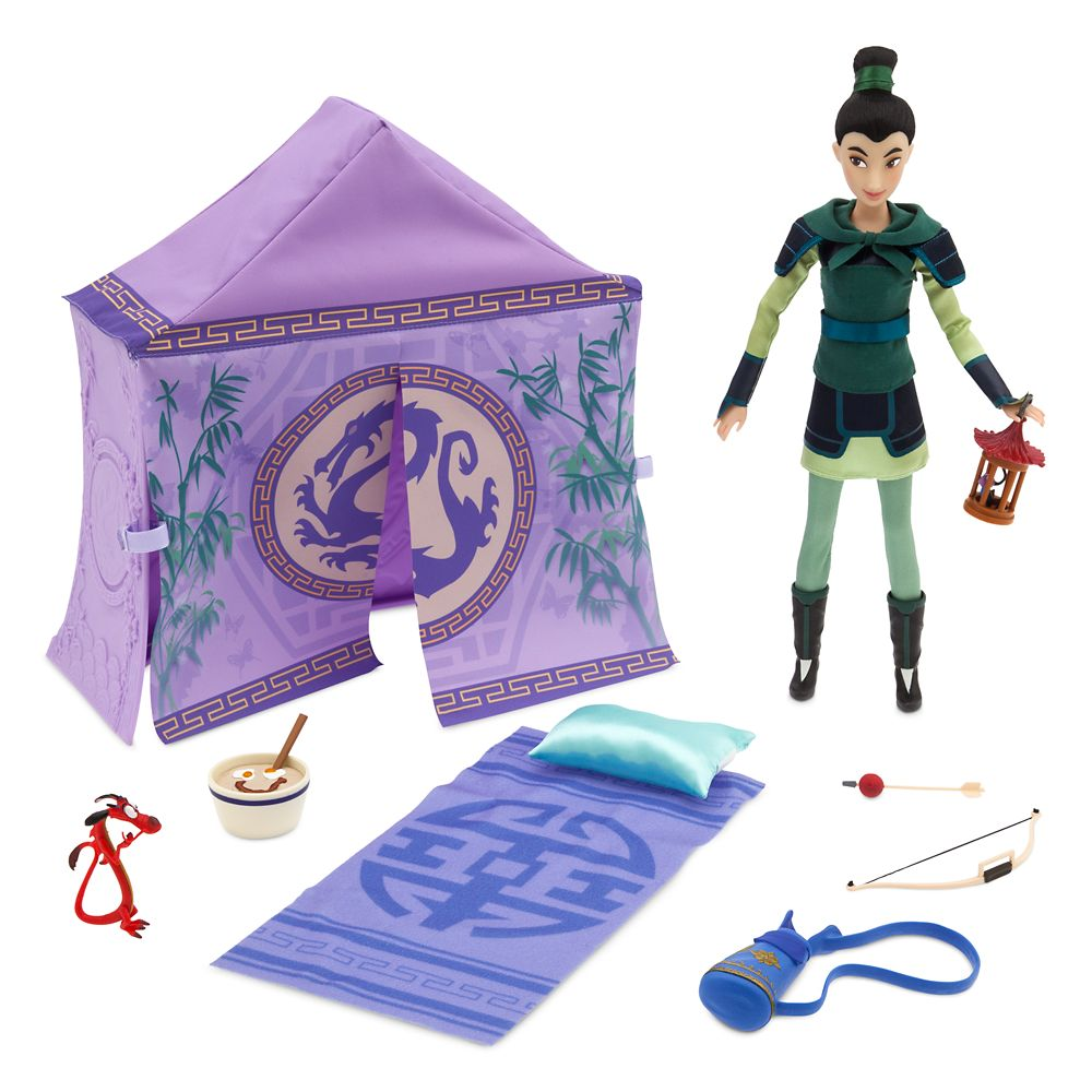Mulan Classic Doll Campsite Play Set