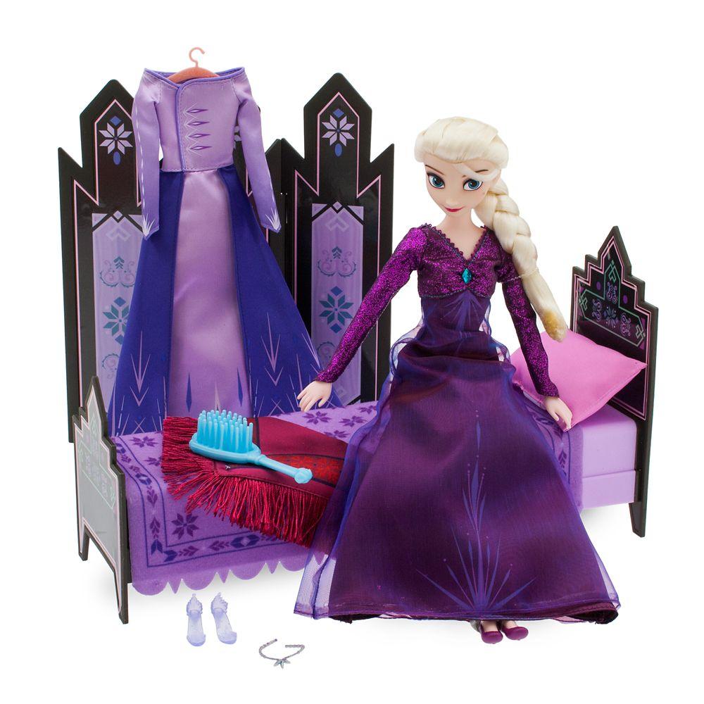 Elsa Classic Doll Bedroom Play Set – Frozen 2