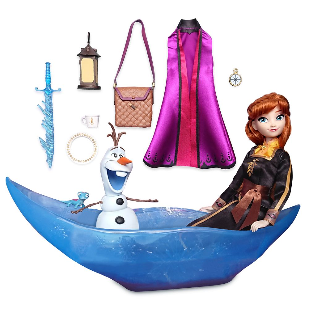 Anna Classic Doll Adventure Play Set – Frozen 2