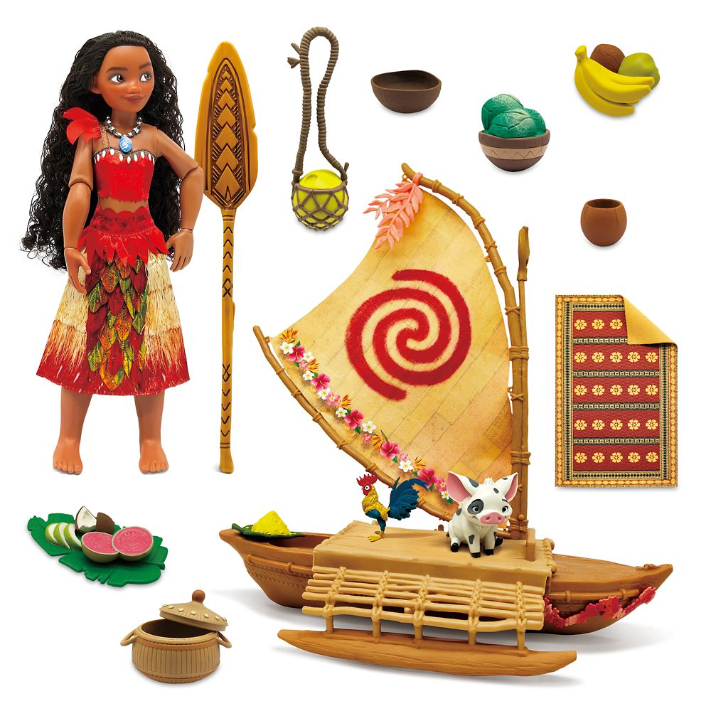 Moana Ocean Adventure Classic Doll Play Set
