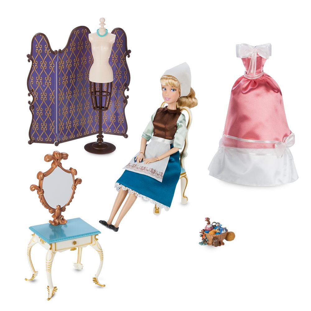 Cinderella Classic Doll with Vanity Play Set