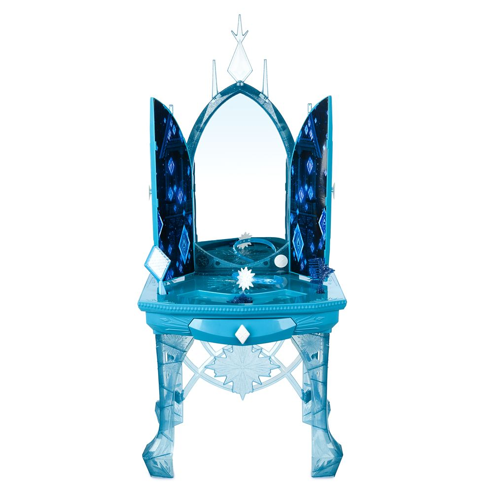Elsa's Enchanted Ice Vanity Play Set – Frozen 2