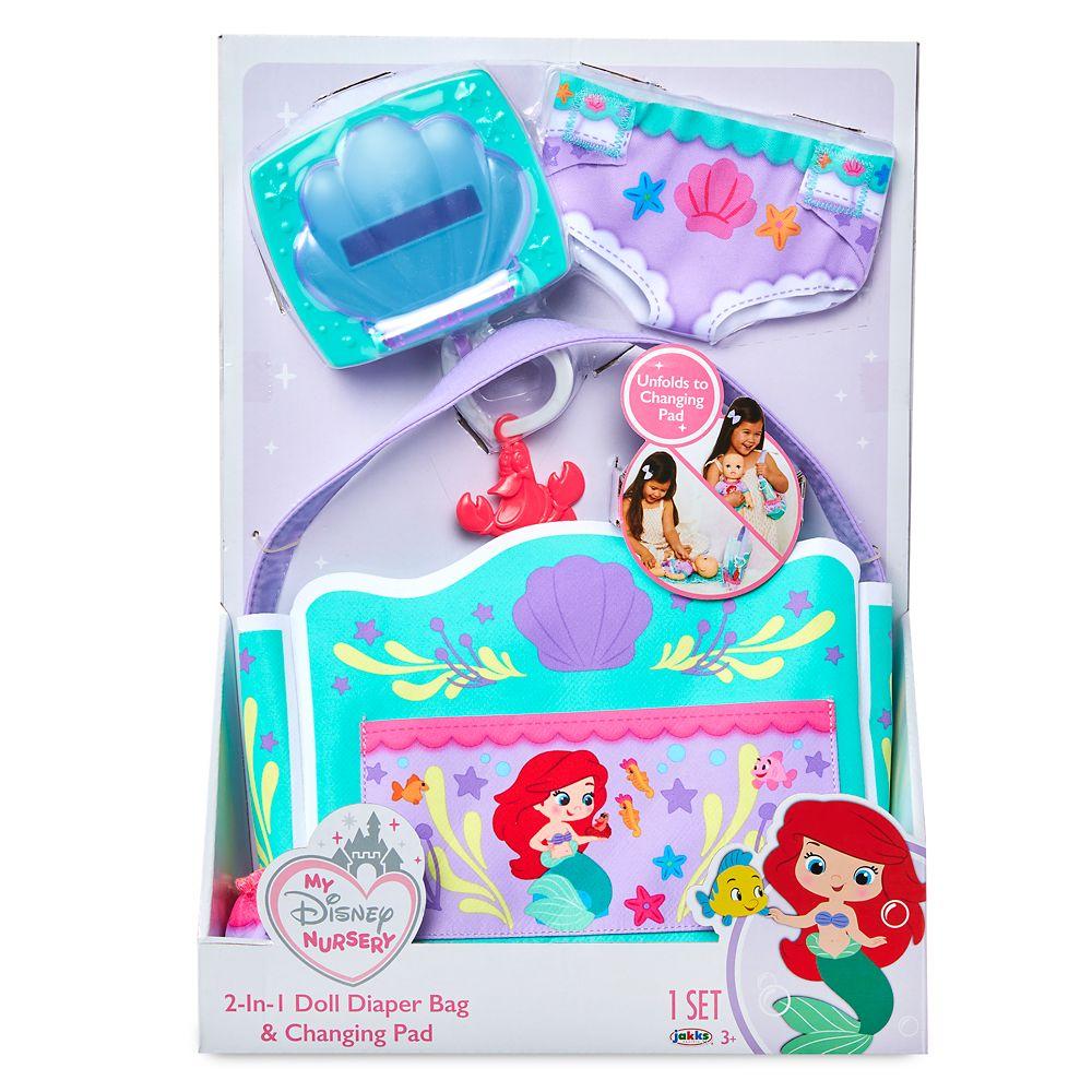 The Little Mermaid Doll Diaper Bag Play Set – My Disney Nursery