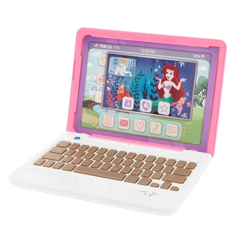 Disney Princess Click & Go Play Laptop