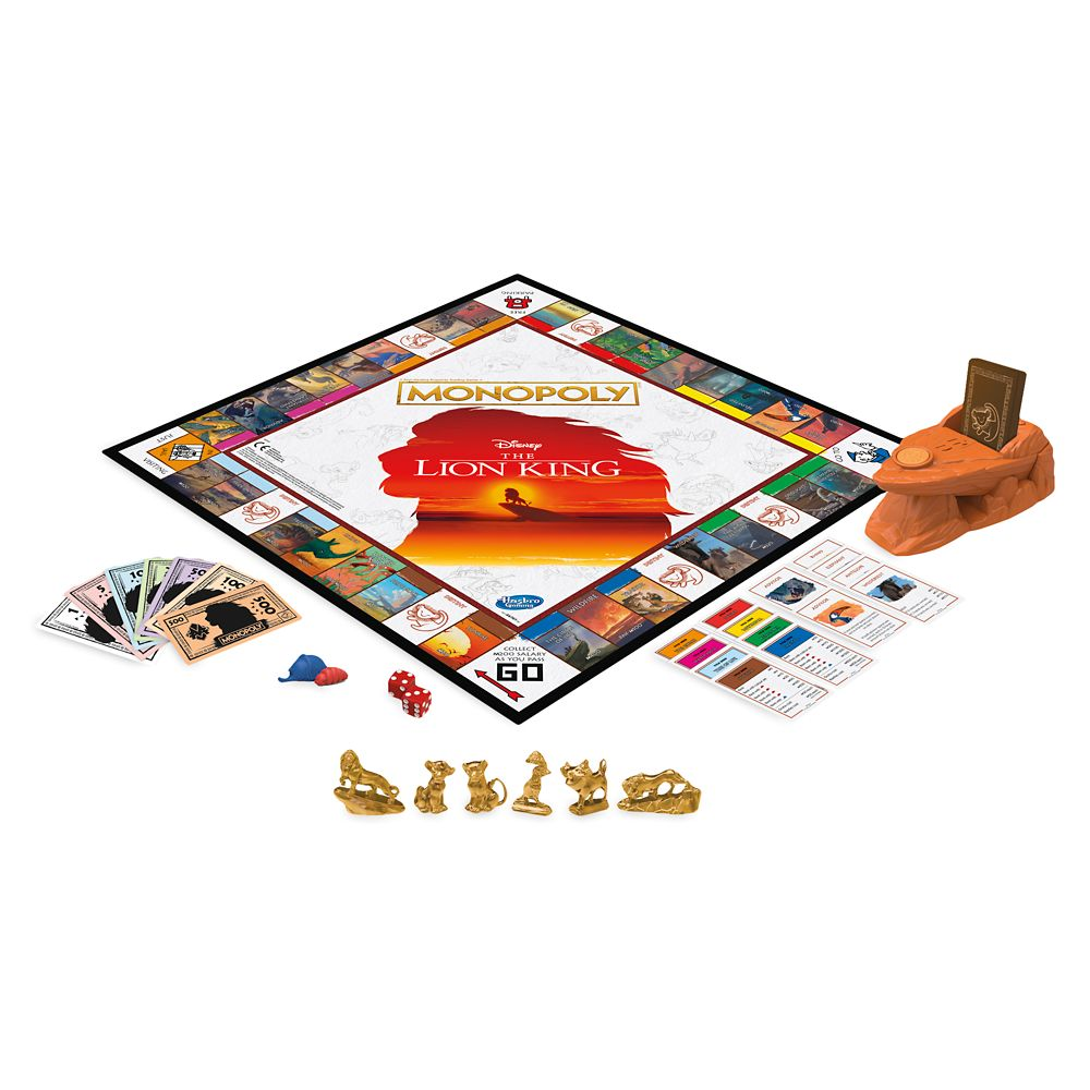 The Lion King Monopoly Game