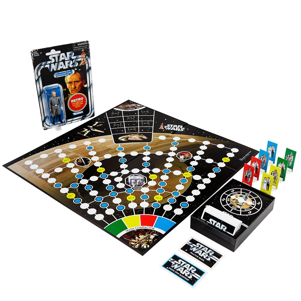 Star Wars Escape From Death Star Board Game with Exclusive Grand Moff Tarkin Figure
