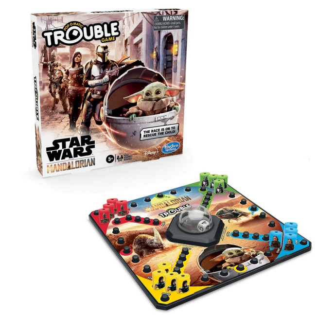 Star Wars: The Mandalorian Trouble Game by Hasbro