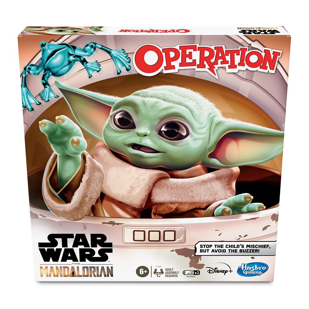 Star Wars: The Mandalorian Operation Game by Hasbro