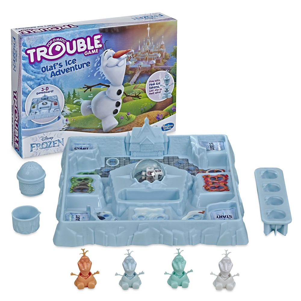 Olaf's Ice Adventure Trouble Game – Frozen