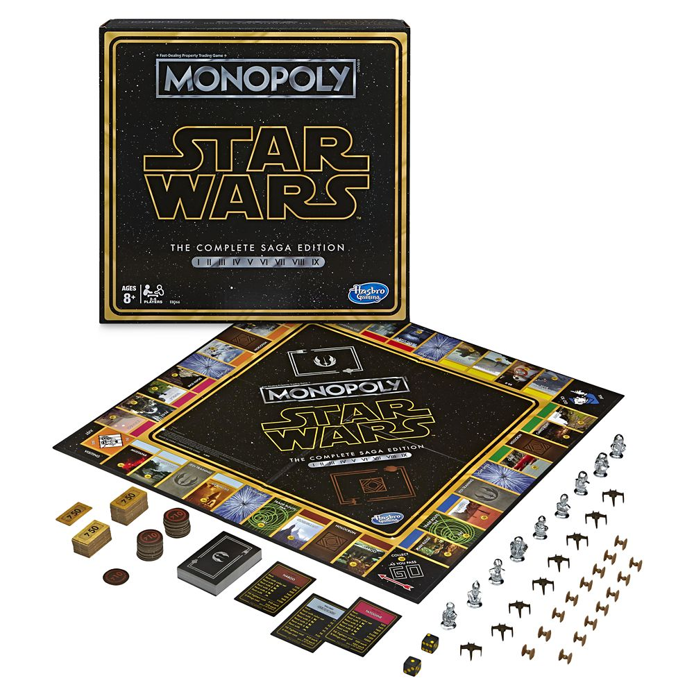 Star Wars Monopoly Game – The Complete Saga Edition