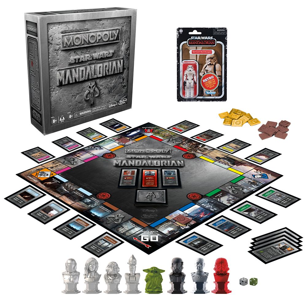 Star Wars: The Mandalorian Monopoly Game – Limited Edition – Pre-Order
