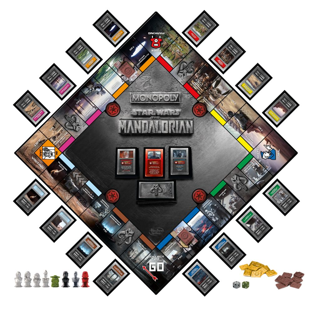 Star Wars: The Mandalorian Monopoly Game – Limited Edition