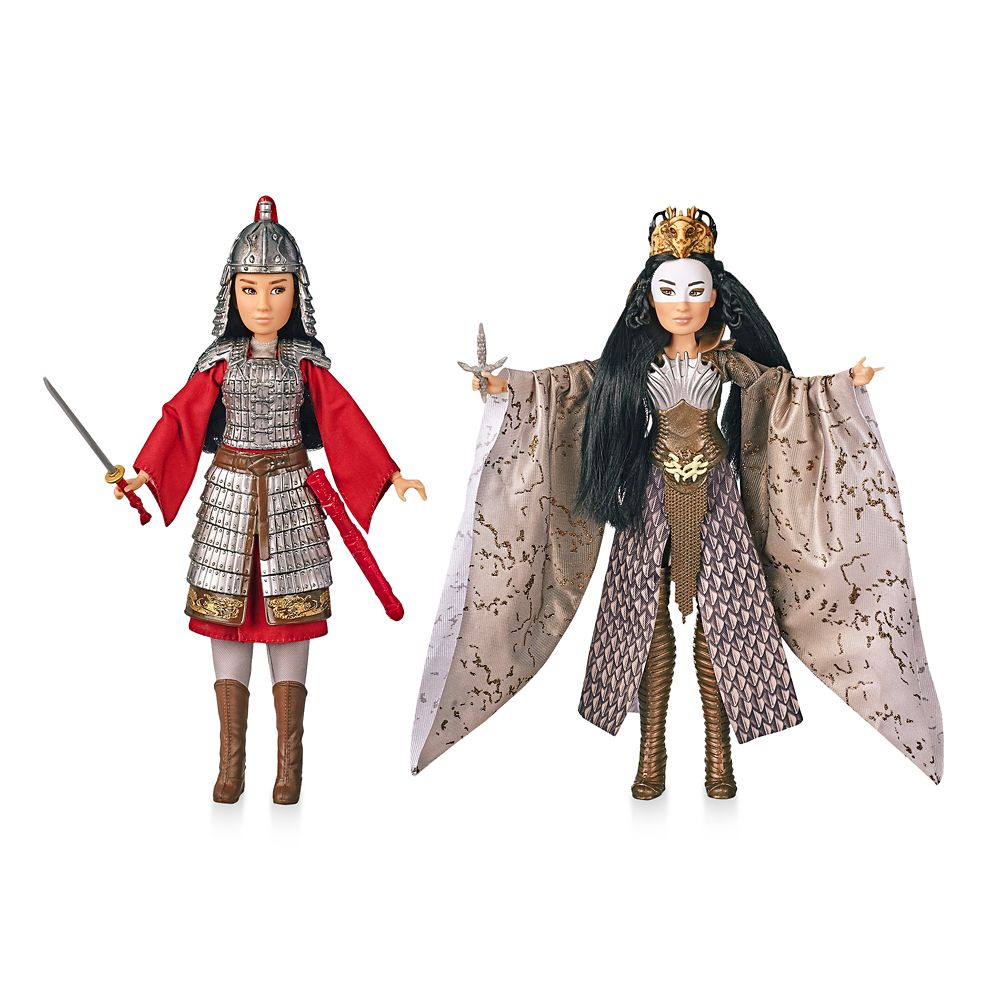 Mulan and Xianniang Doll Set by Hasbro – Live Action Film – 11 1/2''